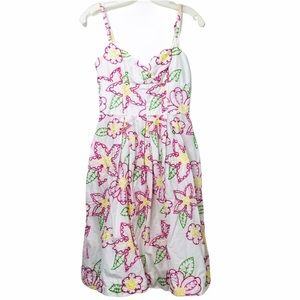 Lilly Pulitzer Fruit punch embroidered dress